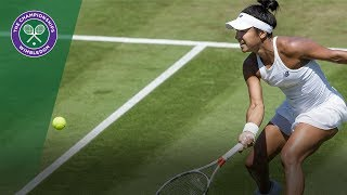 heather watson v anastasija sevastova highlights wimbledon 2017 second round