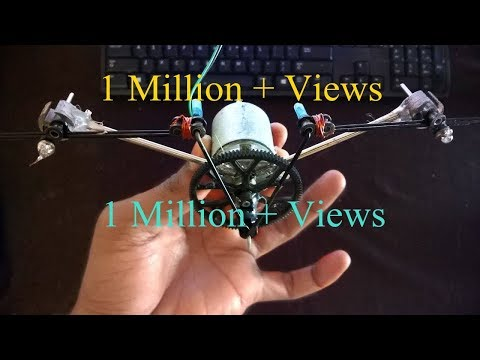 How To Make A Robot Flying Bird At Home !! Robot Flying Bird