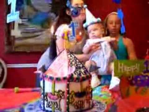 Rowan's first birthday