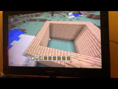 How to build a Pointed and raised roof Xbox 360