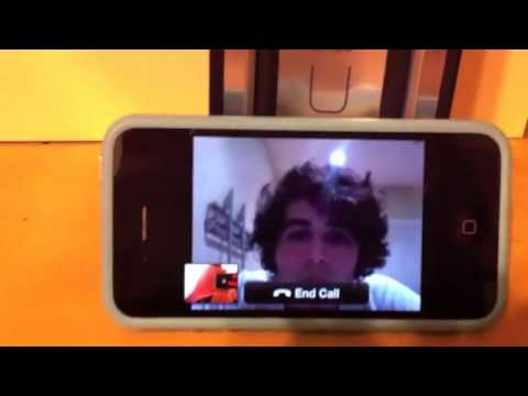 Skype video calling for iPhone [Hands-on][HD]
