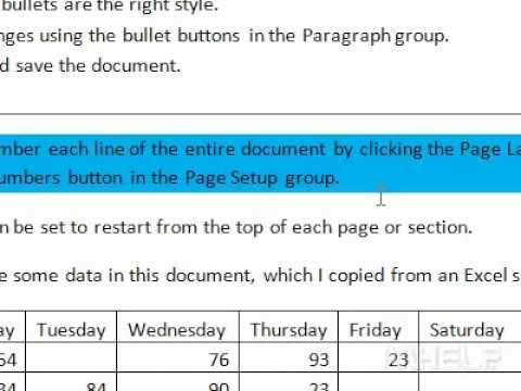 How to change the background color of a selected paragraph in Word