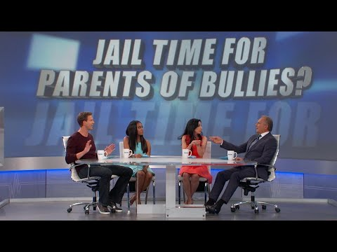 Jail Time for Parents of Bullies?
