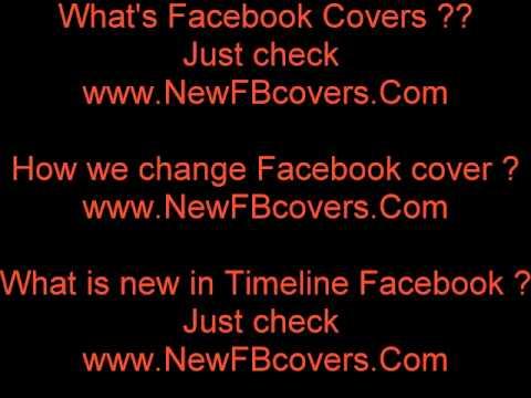 Facebook introduce Facebook Timeline Profile Covers