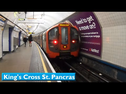 King's Cross St. Pancras | Victoria line : London Underground ( 2009 Tube Stock )