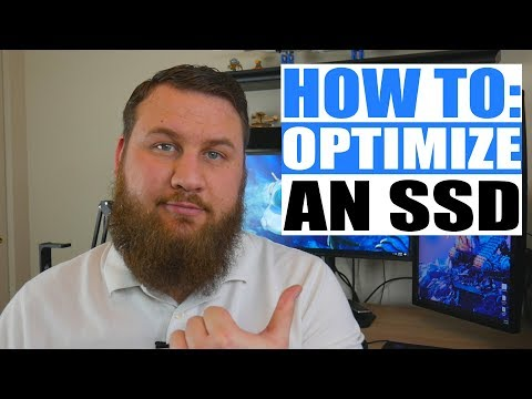 How to optimize your SSD(Solid State Drive).