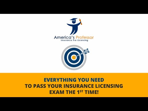 America's Professor - Insurance Pre-Licensing Courses