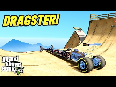THE ULTIMATE GTA 5 DRAGSTER! (GTA 5 Mods)
