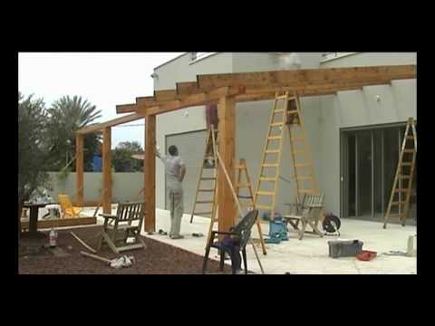 Dome4Home Pergola Gazebo Decks - דום4הום
