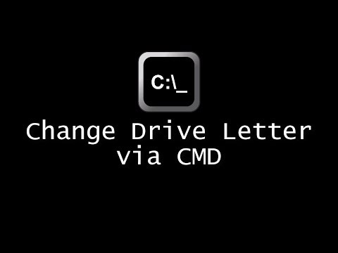 Change Drive Letter via CMD