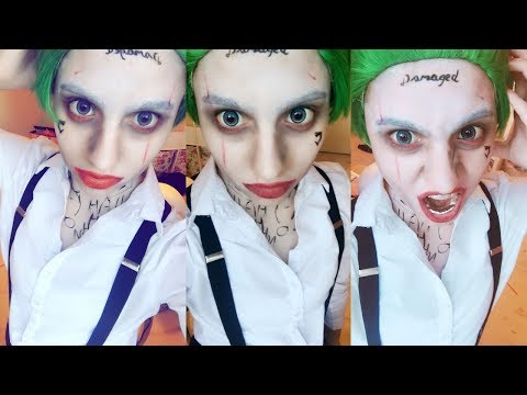 ♣ Joker Makeup Tutorial - Suicide Squad ♣