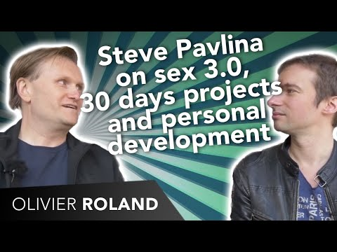 Steve Pavlina on sex 3.0, threesome, 30 days projects and personal development
