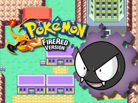 Pokemon FireRed - Lavender Town - (Pokemon Tower) - Part 1/2 - (GBA)