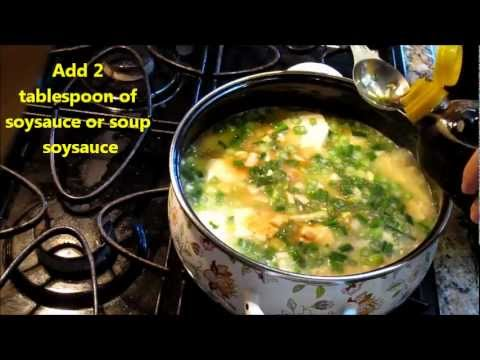 Korean Soft Tofu Soup (순두부) or SoonTofu Jiigae Not Spicy Soup by Omma's Kitchen