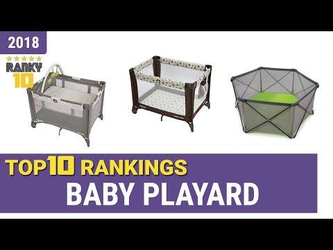 Best Baby Playard Top 10 Rankings, Review 2018 & Buying Guide