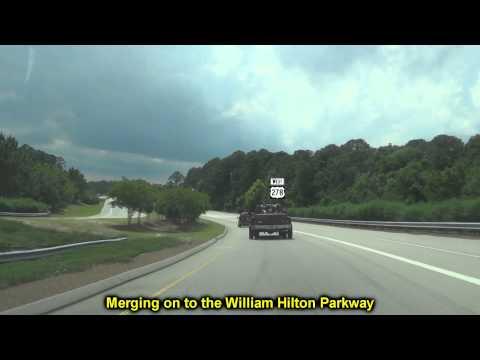 Cross Island & Wm Hilton Pkwys of Hilton Head, SC