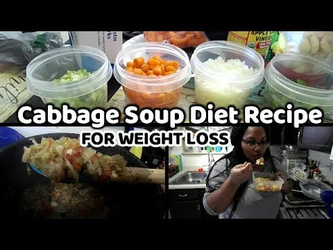 Cabbage Soup Diet Recipe 2019 | Lose 7 lbs in a Week?