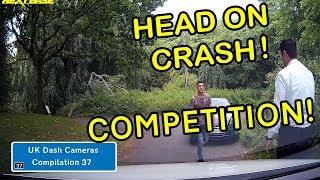 UK Dash Cameras - Compilation 37 - Bad Drivers, Crashes + Close Calls