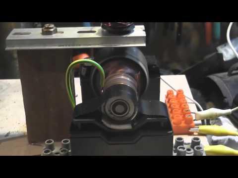 Home-made DC motor at insane speeds