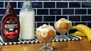Chocolate Banana Pudding Cups // Presented by Milk Life
