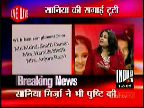 Sania Mirza engagement BREAKUP with Sohrab Mirza -1