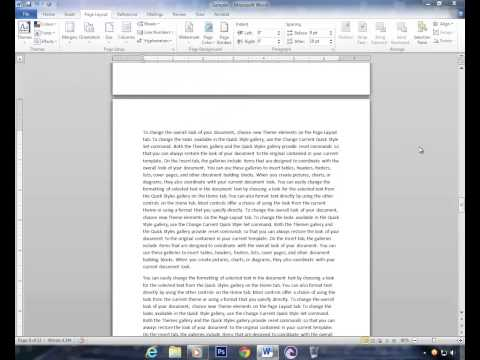 Insert Page Numbers on Selected Pages in MS Word