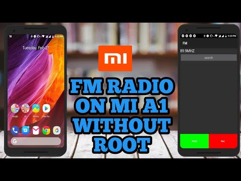 Activate fm radio on mi a1 without root  tips and tricks for Mi A1