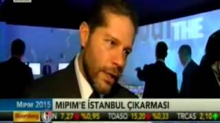 Bloomberg Ht Mipim Özel Yayını   Ozan Balaban Röportaj 12 03 2015