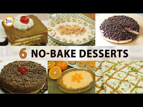 6 No Bake Dessert Recipe By Food Fusion