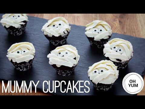I Want My Mummy Mini Chocolate Cupcakes - Anna Olson