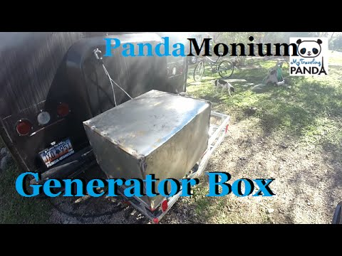 Building A Generator Box & Locked In Medina State Park OPPPS!!!