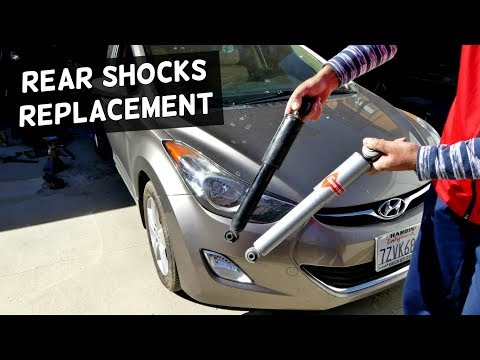 HYUNDAI ELANTRA REAR SHOCKS STRUTS REPLACEMENT
