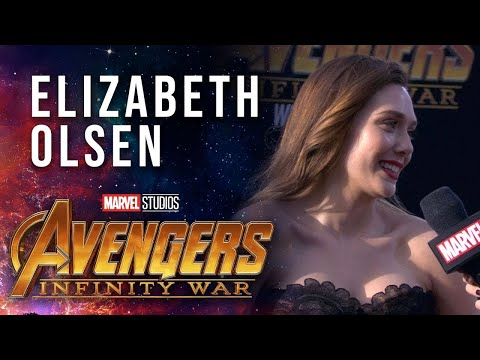 Xxx Mp4 Elizabeth Olsen Live From The Avengers Infinity War Premiere 3gp Sex