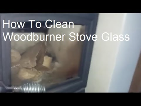 How To Clean Woodburner Stove Glass