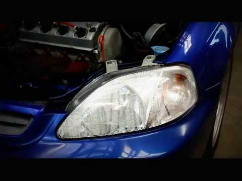 Removing moisture in a headlight! How to...