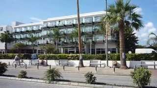 Ayia Napa from city centar to Harbour and beach