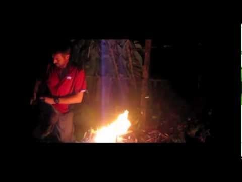 How to make a lean to survival shelter in the jungle