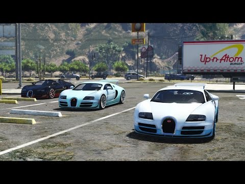 Bugatti Veyron Supersports & Vitesse Pack - GTA 5 Mod