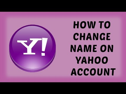 How to Change Name on Yahoo Account | Change Name on Yahoo mail - Hindi