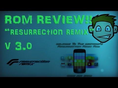 Resurrection Remix Rom V3.0 (JELLY BEAN 4.1) (BLACK GAPPS) (SUPER ESTABLE)