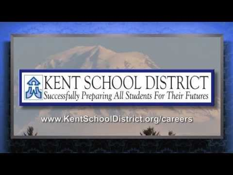 Come And Work For The Kent School District