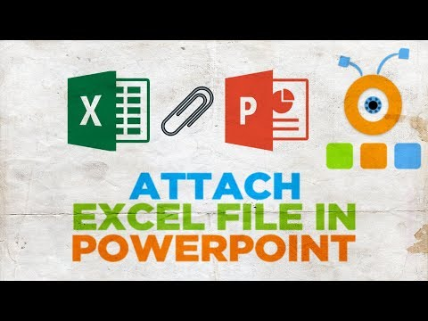 How to Attach an Excel File in PowerPoint