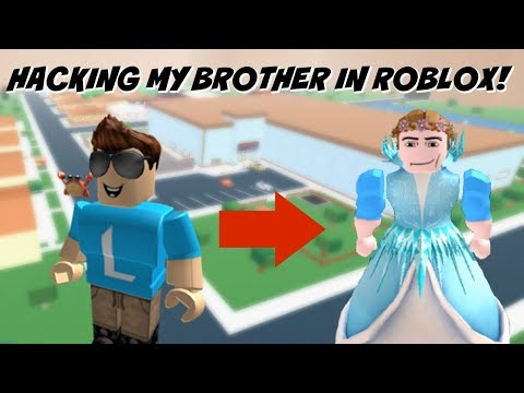 HACKING MY BROTHER'S ROBLOX ACCOUNT!!! (REVENGE!!!)