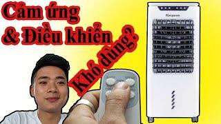 Mở hộp quạt điều hòa kangaroo cảm ứng KG50F64 và cách dùng | Điện Máy Lê Hoan