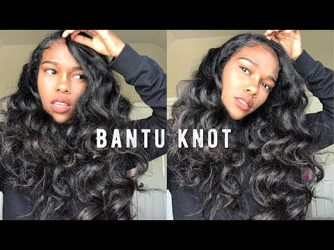 How To Get Perfect Bantu Knots | Weave