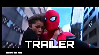 Download Spiderman Far From Home Trailer 6 | Spiderman and MJ swinging Video