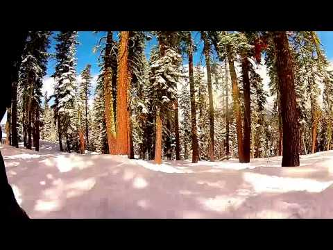 Sierra At Tahoe April 2014 Tree Run  GOPRO