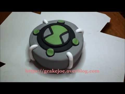 Gâteau Ben 10 Ultimatrix