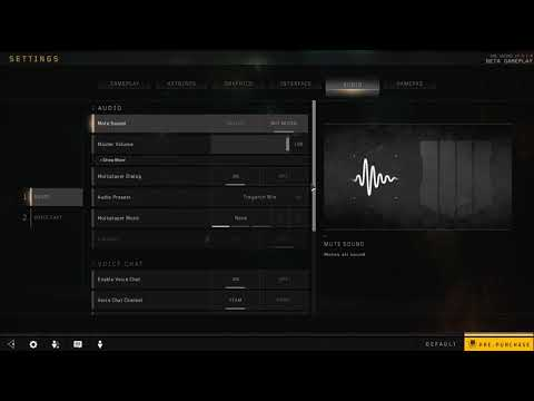 How to Enable Push to Talk in Black Ops 4
