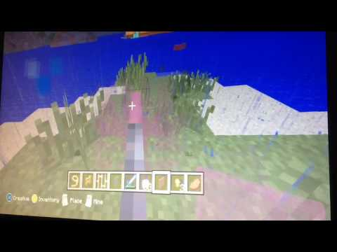 Minecraft how to make a light saber in one minute no mod